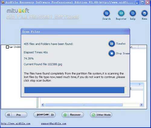 data recovery software Clickfree external hard drive